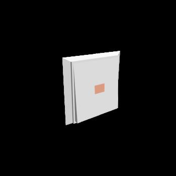 Lichtschalter mit 1 Taste + Statuslicht