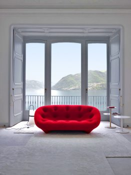 PLOUM 3-seater sofa by Ligne Roset