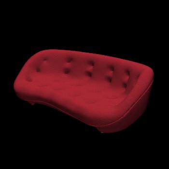 PLOUM 3-seater sofa by Ligne Roset