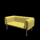 Ruché 2 Sitzer für die 3D Raumplanung