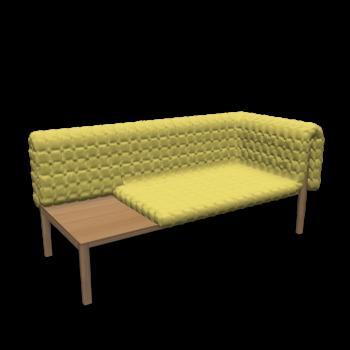 Ruché with side Shelf by Ligne Roset