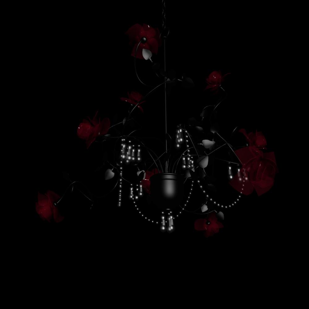 luster ros black design and decorate your room in 3d. Black Bedroom Furniture Sets. Home Design Ideas