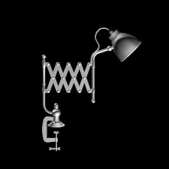 Klemmlampe ARCHITEKT von Maisons du Monde