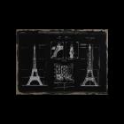 Bild Esquisse Paris von Maisons du Monde