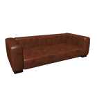 Leather sofa , seats 3/4 JOHN by Maisons du Monde