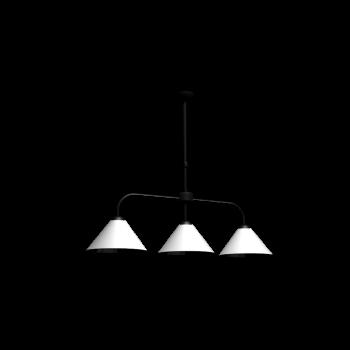 Lubéron Triple Pendant Lamp by Maisons du Monde