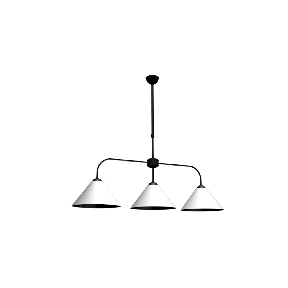 Lub ron triple pendant lamp design and decorate your room in 3d - Maison du monde lampes ...