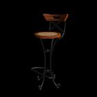 Bar chair LUBÉRON by Maisons du Monde
