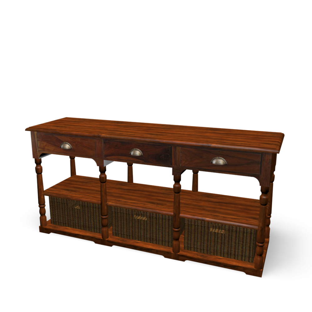 side table with baskets lub ron design and decorate your room in 3d. Black Bedroom Furniture Sets. Home Design Ideas