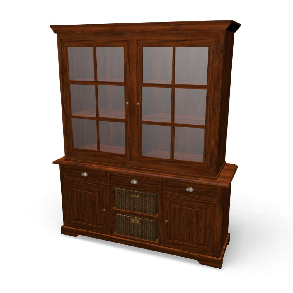Hutch lub ron design and decorate your room in 3d - Armoire maisons du monde ...