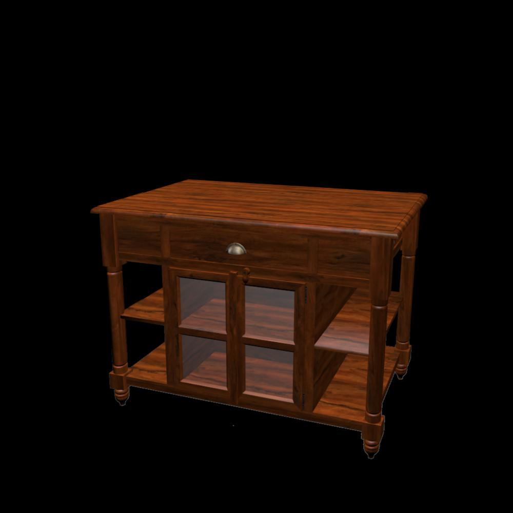 hacktisch 120 cm lub ron einrichten planen in 3d. Black Bedroom Furniture Sets. Home Design Ideas