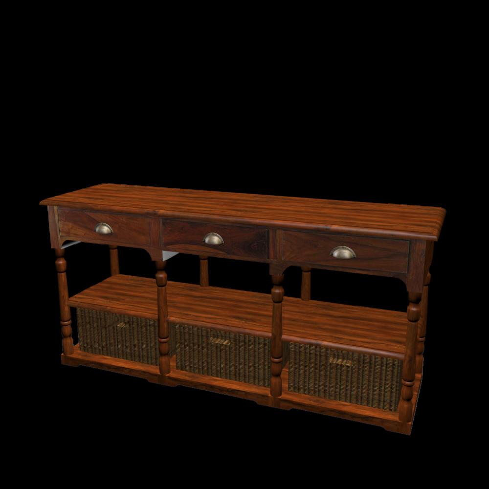 korbkonsole lub ron einrichten planen in 3d. Black Bedroom Furniture Sets. Home Design Ideas