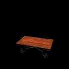 Rectangular coffee table LUBÉRON by Maisons du Monde