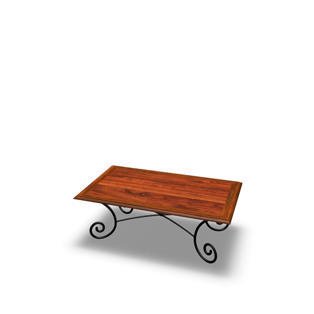 rectangular coffee table lub ron design and decorate your room in 3d. Black Bedroom Furniture Sets. Home Design Ideas
