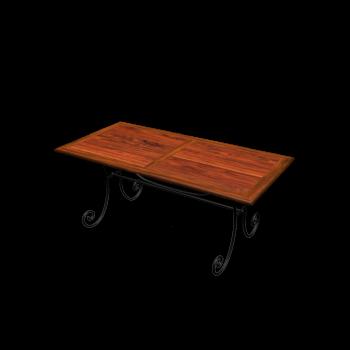 Dining Table, 140 cm LUBÉRON by Maisons du Monde