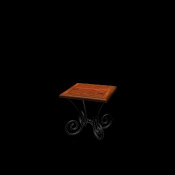 End table LUBÉRON by Maisons du Monde