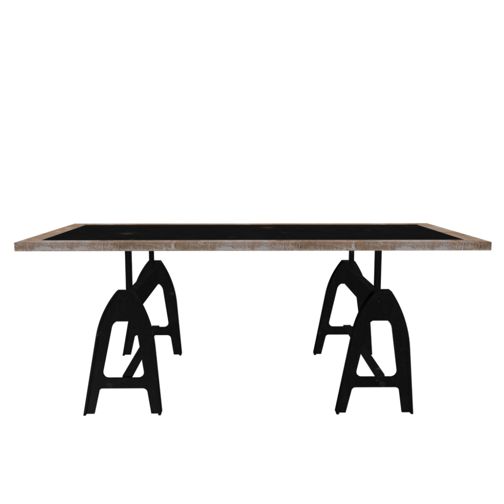 Dining table metropolitan design and decorate your room for Maison du monde