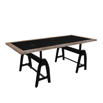Dining table metropolitan design and decorate your room in 3d - Maison du monde tables basses ...