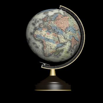 Mercator Globus 1855
