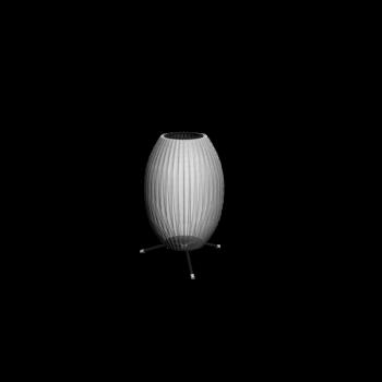 Cigar Bubble Lampe mit Fuß von Modernica