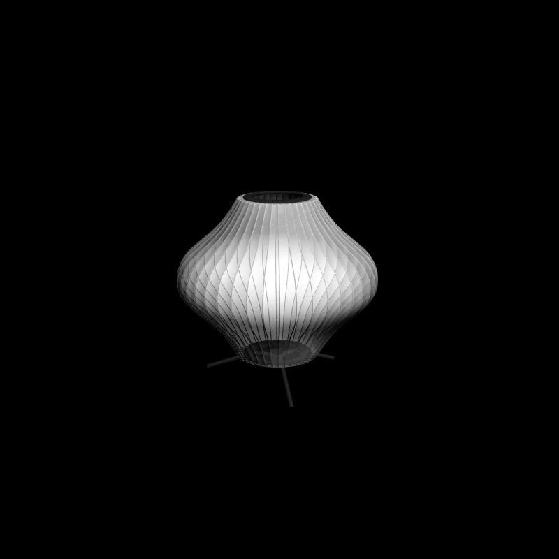 Pear Table Lampe mit Fuß - Einrichten & Planen in 3D