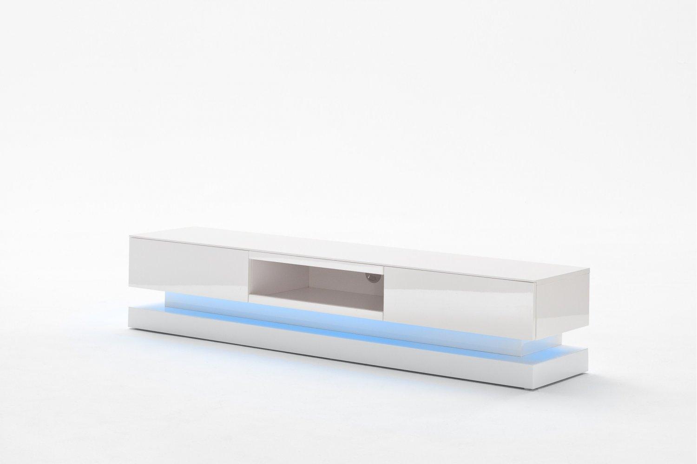 lowboard spot with blue led light on design and decorate. Black Bedroom Furniture Sets. Home Design Ideas