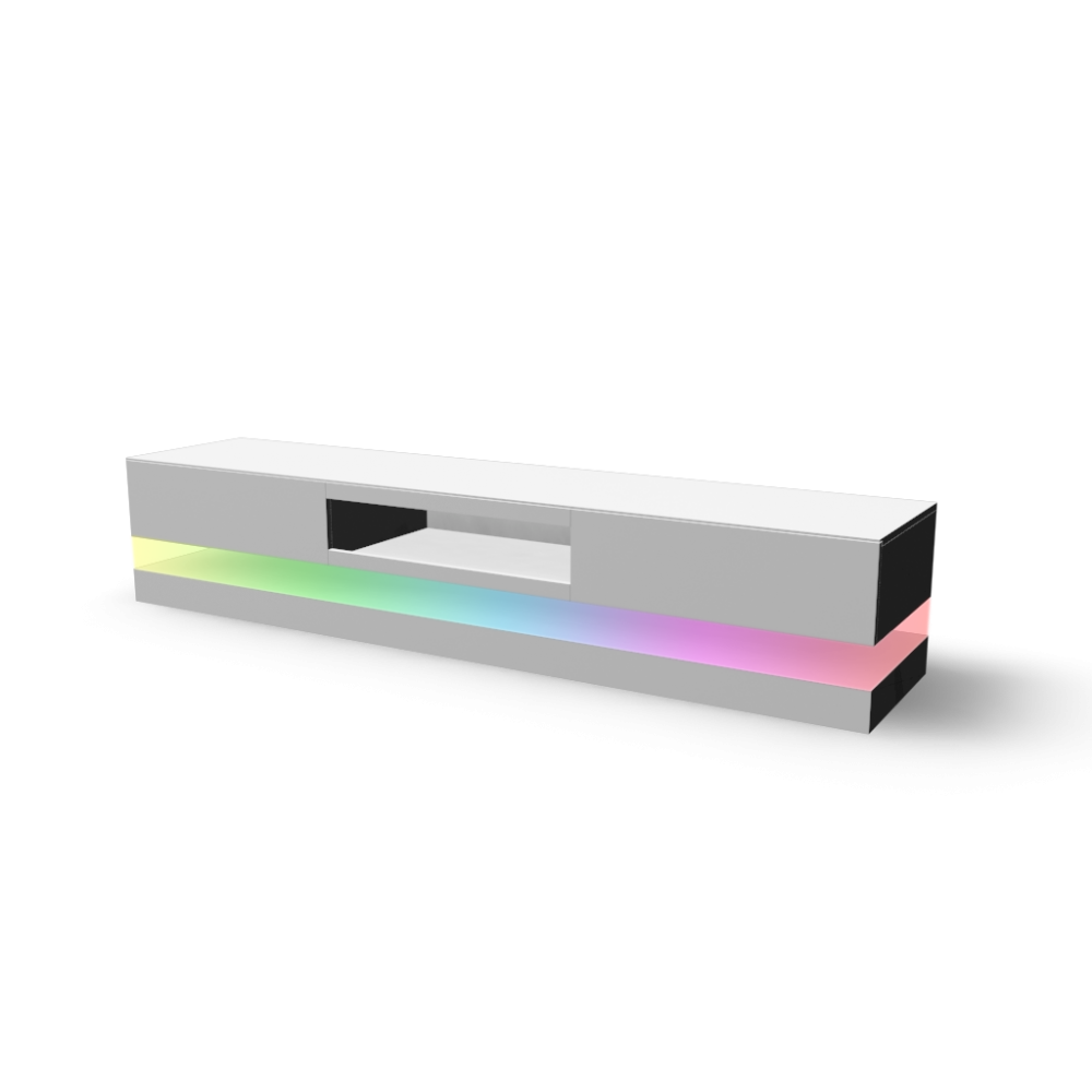 lowboard spot mit rgb led an einrichten planen in 3d. Black Bedroom Furniture Sets. Home Design Ideas