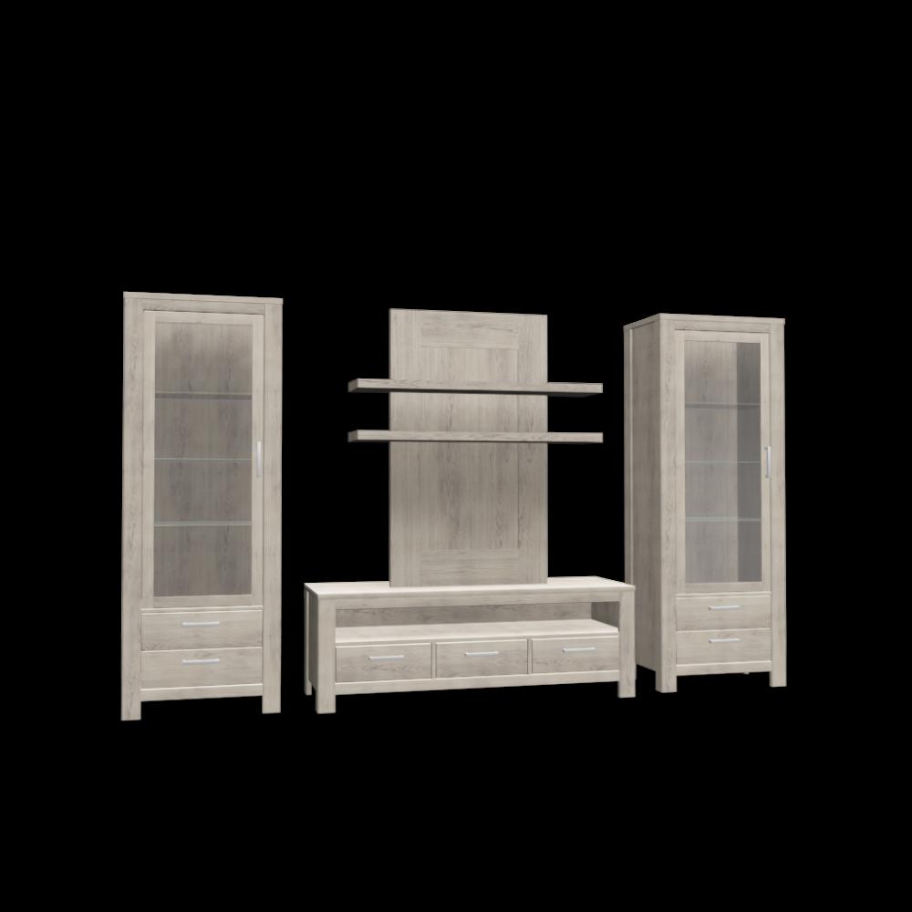 set serchio glas cabinet and lowboard design and. Black Bedroom Furniture Sets. Home Design Ideas