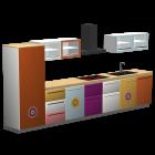 Küchenzeile mit  Motiv IDA von monofaktur