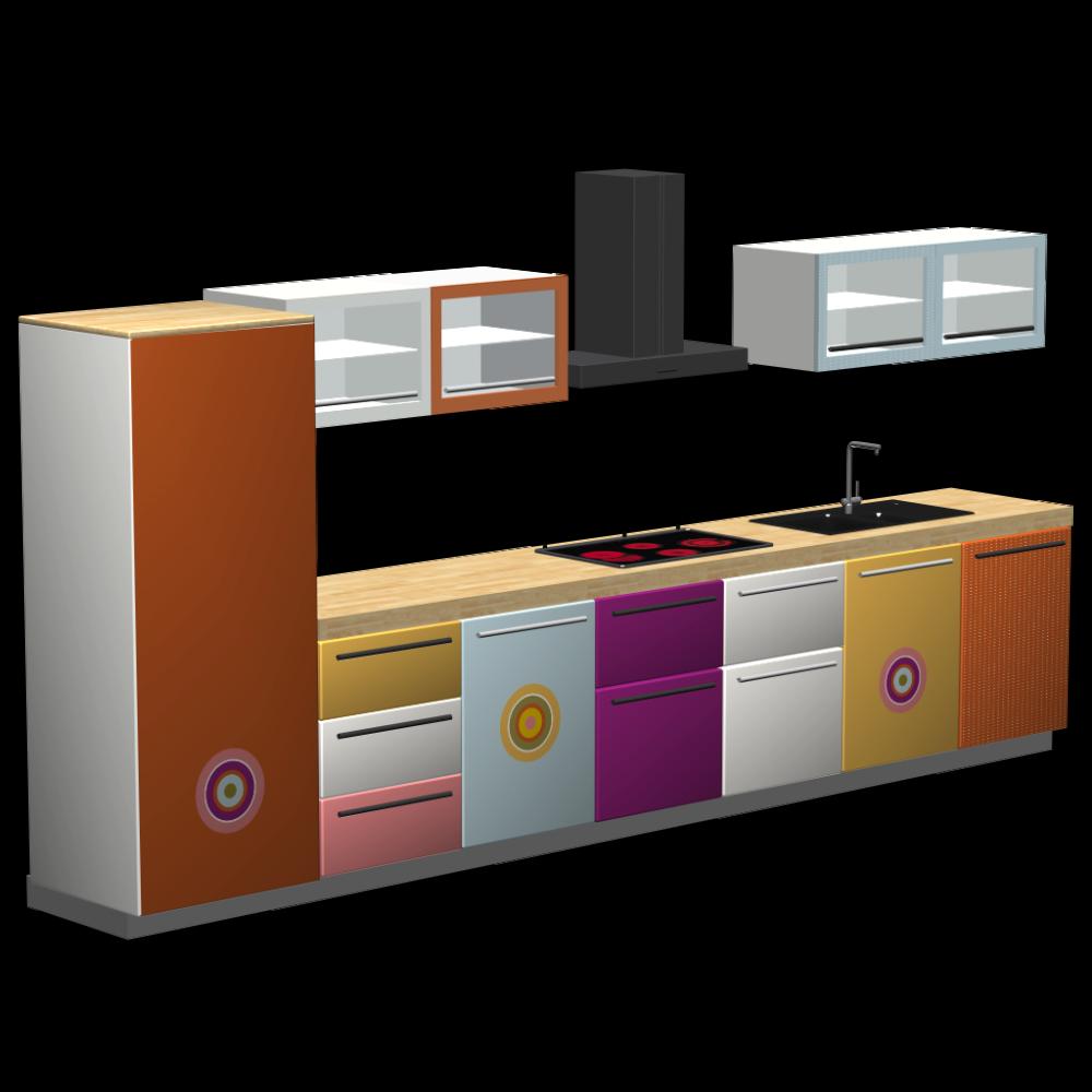 beautiful k chen h ngeschr nke g nstig gallery. Black Bedroom Furniture Sets. Home Design Ideas