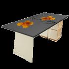 Tischgestell (artTischplatte 501 // Motiv Mia) von monofaktur