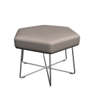 Pollen stool with wirebase by naughtone