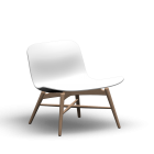 Langue Lounge Chair for your 3d room design