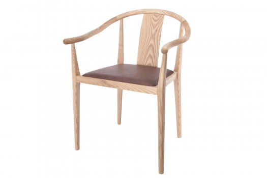 Shanghai Dining Chair, Leather by NORR11