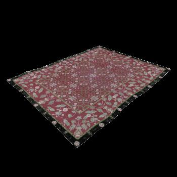 Perser Teppich Rot Schwarz