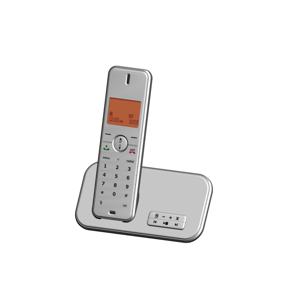 Philips id555 cordless phone with tam by philips