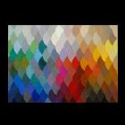 Pixel Teppich, handarbeit von Piodao