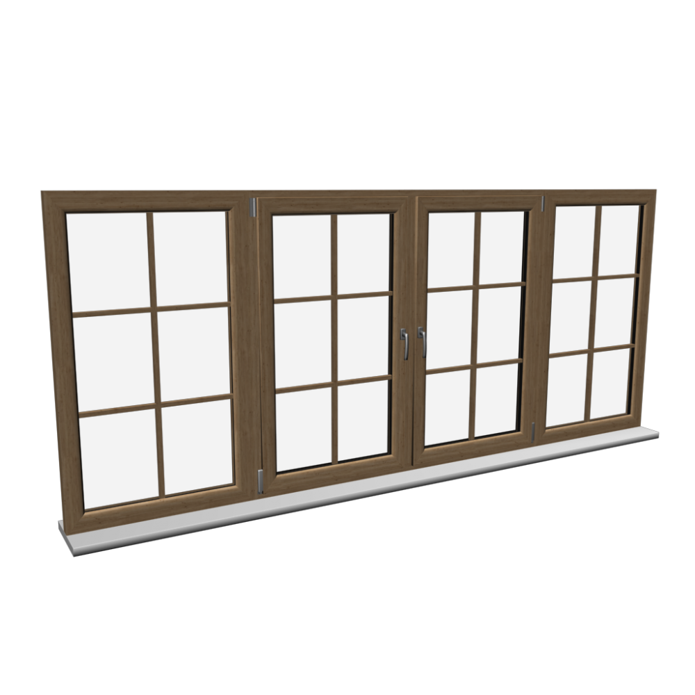 Quad Glazed Windows : Quad window with glazing bar design and decorate your