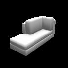Récamiere links für die 3D Raumplanung