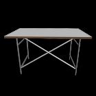 Egon Eiermann 1 Tischgestell  weiß für die 3D Raumplanung