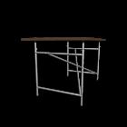 Egon Eiermann 1 Tischgestell  weiß von Richard Lampert