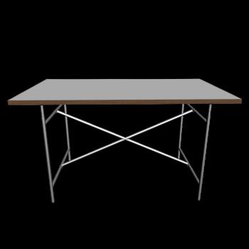Egon Eiermann 2 Tischgestell  weiß von Richard Lampert
