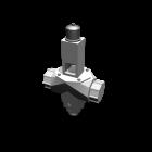 Rohr mit Ventil für die 3D Raumplanung