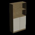 Schrank mit 2 Türen