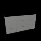 Einbauschrankmodul für die 3D Raumplanung