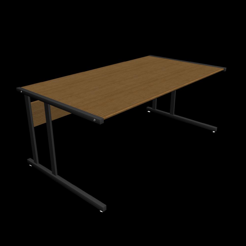 schreibtisch einrichten planen in 3d. Black Bedroom Furniture Sets. Home Design Ideas