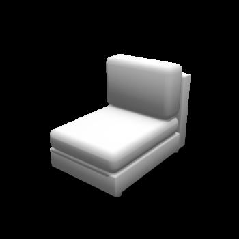 Sessel ohne Armlehne