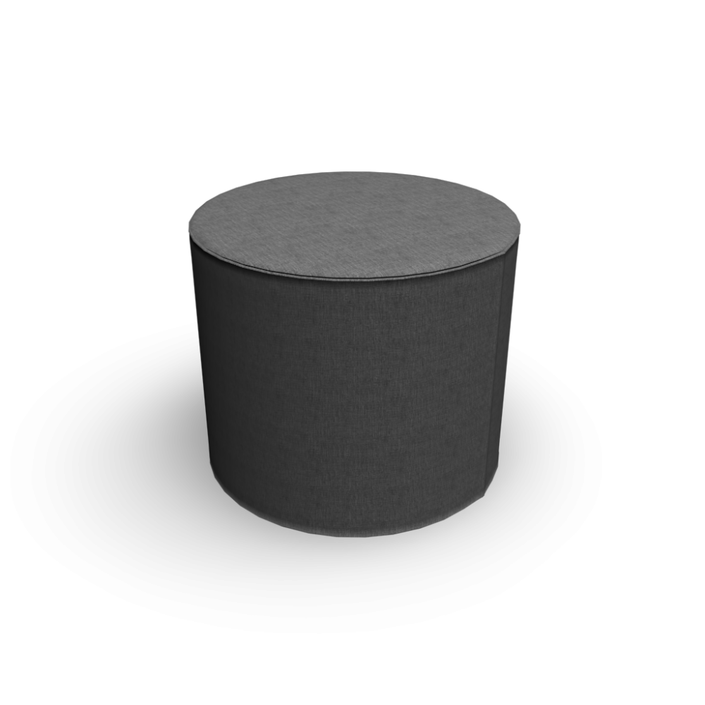 Drum pouf design and decorate your room in 3d - Design pouf ...