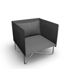 Groove armchair by Softline