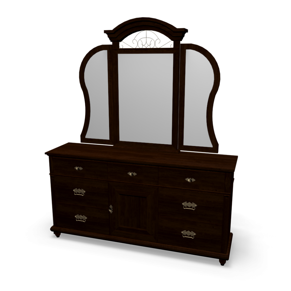 spiegelkommode - einrichten & planen in 3d